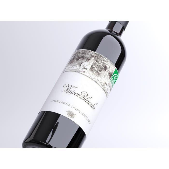 Maison Blanche 2000 Rouge 75 cl AOC Montagne Saint-Émilion Vin Rouge