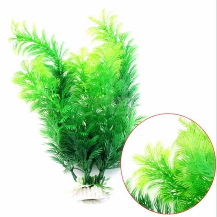 Décoration de paysage aquatique aquatique artificiel, plantes vertes pour Aquarium, multi-styles, fournitures pour [CBBF7C2]