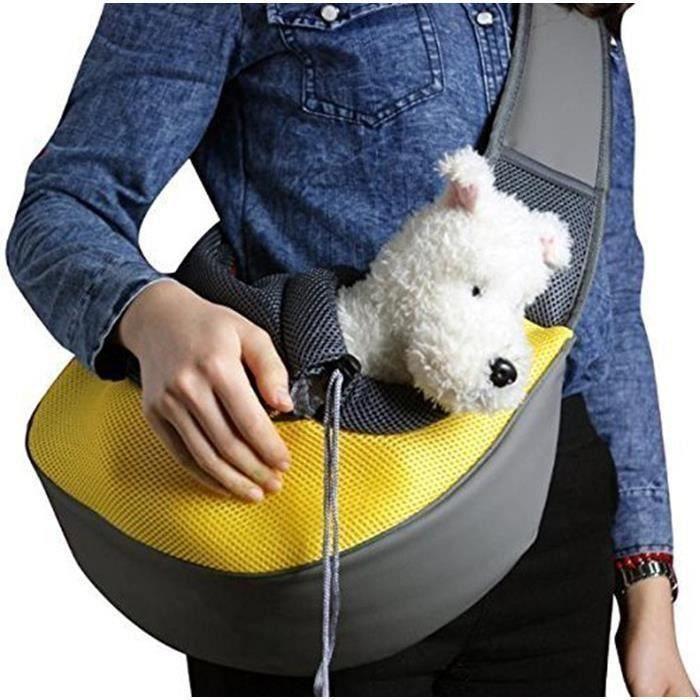 Sac d'épaule Pour animaux de compagnie, Sac de transport pour Chien Chat,Portable confortable,Sac de chiot chats sac LIA16119
