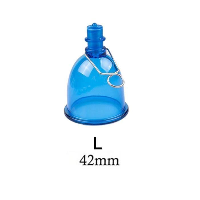 Appareil de massage,Extension de pénis agrandissement en plastique haut berceau tête accessoires pour pompe à pénis - Type Cup L