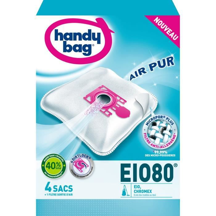 HANDY BAG EIO80 Sacs Aspirateur Micropor Plus