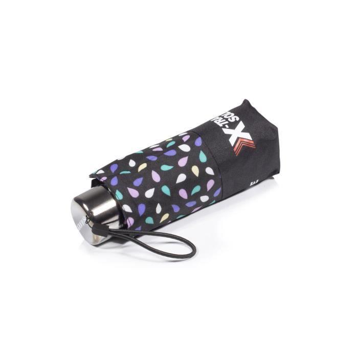 Isotoner Parapluie x-tra solide pliant graine pop femme