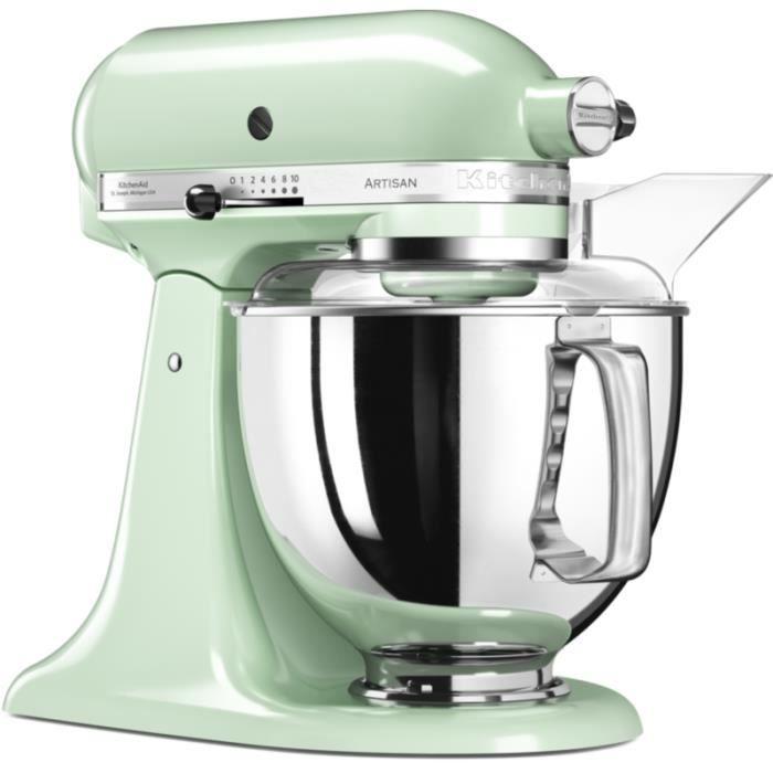 Robot pâtissier Kitchenaid 5KSM175PSEPT ARTISAN Macaron Pistache • Robot de cuisine • Cuisine et cuisson