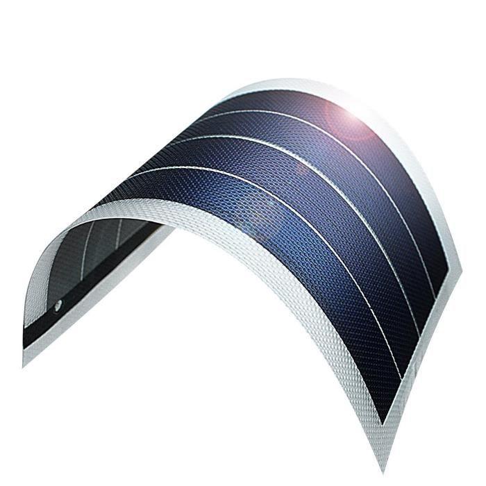 film photovoltaïque Panneaux solaires à couche mince Flexible Panneau Solaire PV Énergie Couche Mince DIY 1W 6V Batterie