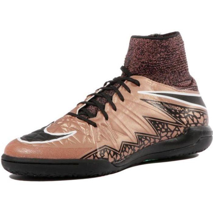 Hypervenomx Proximo TF Garçon Chaussures Futsal Cuivre Nike