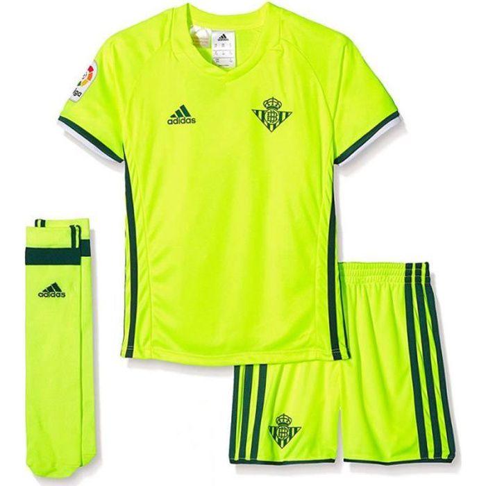 Mini kit Betis jaune enfant Adidas