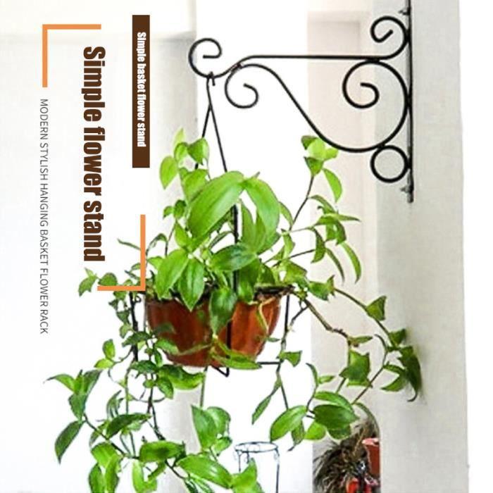 Crochets De Suspension De Fleur Mural Support De Pot De Fleur De Plante Support De Panier Décoration Pour Jardin Nouveau