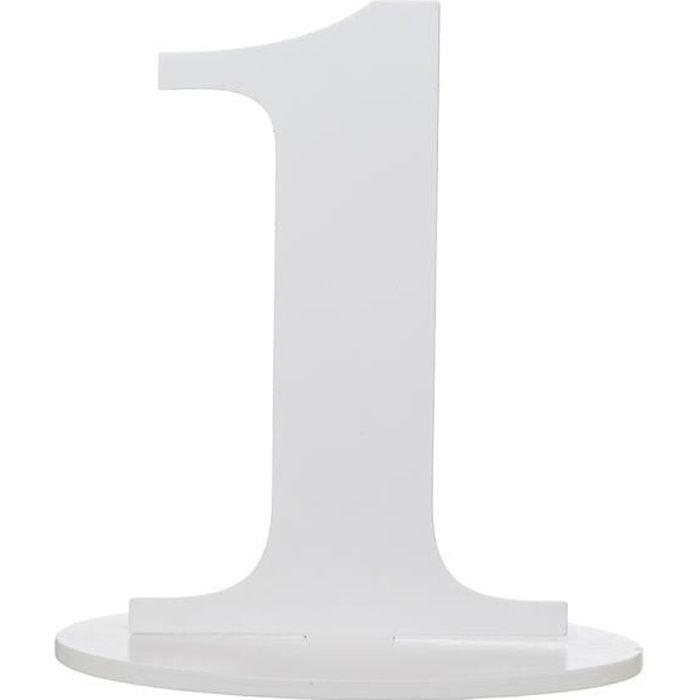 SANTEX 5051-1, Grand chiffre Anniversaire vertical