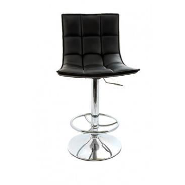 fauteuil de bar capitonn rosanna noir achat vente. Black Bedroom Furniture Sets. Home Design Ideas