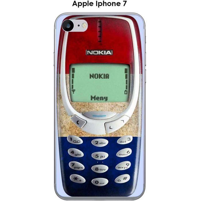 Coque Apple iphone 7 design Nokia 3310 France