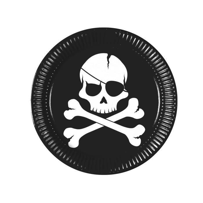 12 Carton PIRATE Chapeaux-Crâne Noir Pinata Butin//Fête Sac Remplissage papier