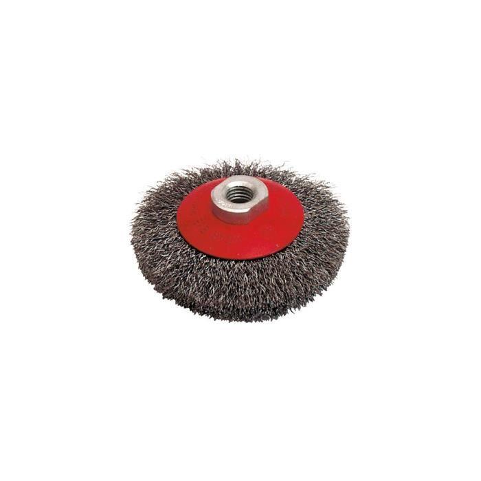 brosses coniques M 14  pour meuleuse d/'angle 65 mm