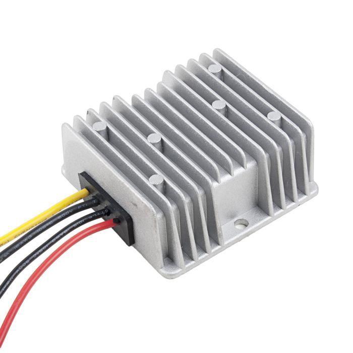 Dc // Abaisseur puissance Convertisseur 12v//24v To 6v 60w Imperméable 10a