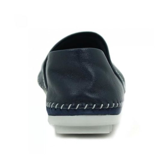 Taille Marine Confort Espadrille Chaussures En AEROBICS Cuir YxCpPzS