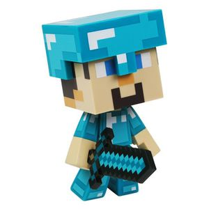 MINECRAFT- Figurine 15 Cm Diamond Steve Minecraft