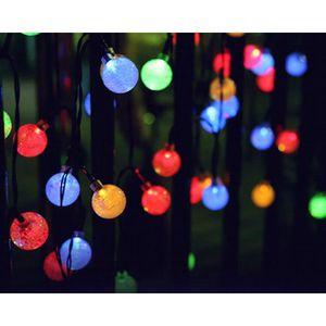 GUIRLANDE D'EXTÉRIEUR Guirlandes lumineuses d'extérieur 30 LED Polychrom