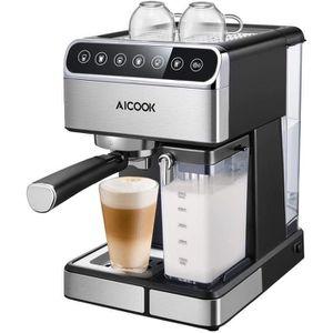 MACHINE À CAFÉ Aicook Machine à Café Automatique,15 Bar Cafetiere