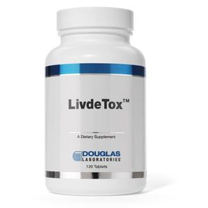 PARTITION Livdetox (120 Tablets) - Douglas Laboratories
