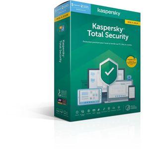 ANTIVIRUS KASPERSKY Total Security 2020 Mise à jour, 5 poste