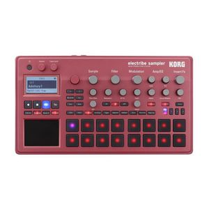 SAMPLER Korg Electribe Sampler 2 Red Sampler Groovebox & S