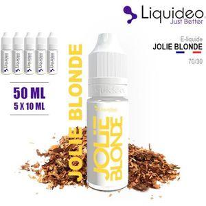 LIQUIDE E-LIQUIDE SAVEUR JOLIE BLONDE  50ML EN 6MG DE NICO