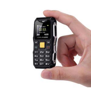 Téléphone portable Mini Rugged antichoc anti-poussière Bluetooth Télé