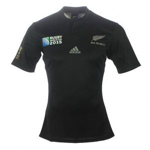 MAILLOT DE RUGBY Maillot Domicile All Black WC 2015 Enfant
