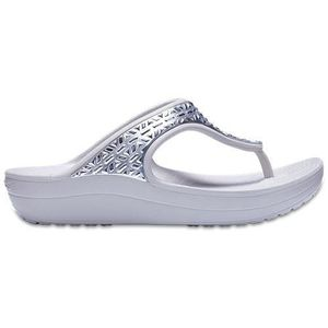 BASKET Crocs Sloane Graphic Etch Met Relaxed Fit Flip Flo