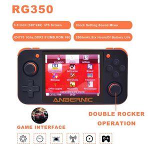 CONSOLE RÉTRO Nouveau jeu rétro RG350 jeu vidéo console de jeu p