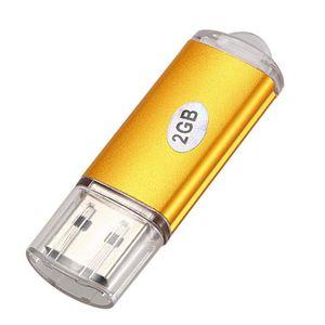 CLÉ USB Clé Usb Disque De Clé Stylo Flash Usb 2.0 Doré Cap