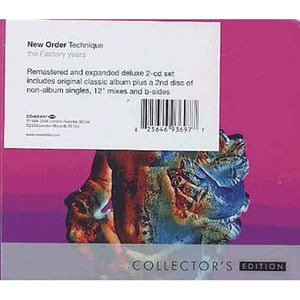 CD VARIÉTÉ INTERNAT Technique by New Order