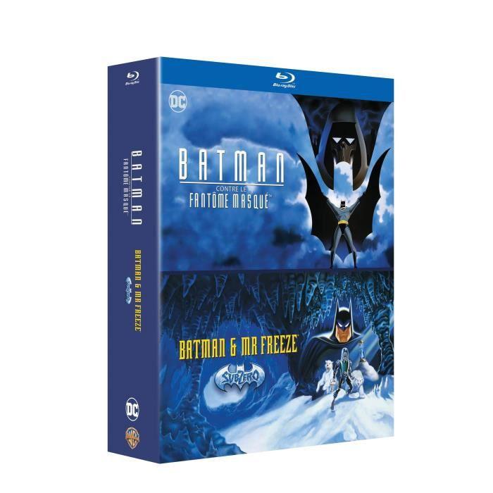 DVD SÉRIE Coffret Blu-ray, 2 films issus de Batman la série