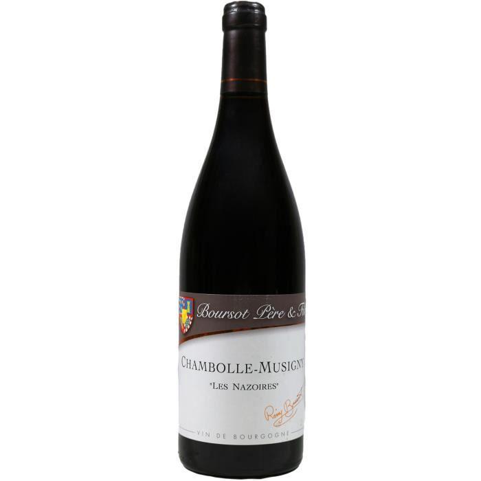 Chambolle-Musigny, Les Nazoires, Domaine Boursot Père & Fils (Bourgogne), 2017 - Vin Rouge