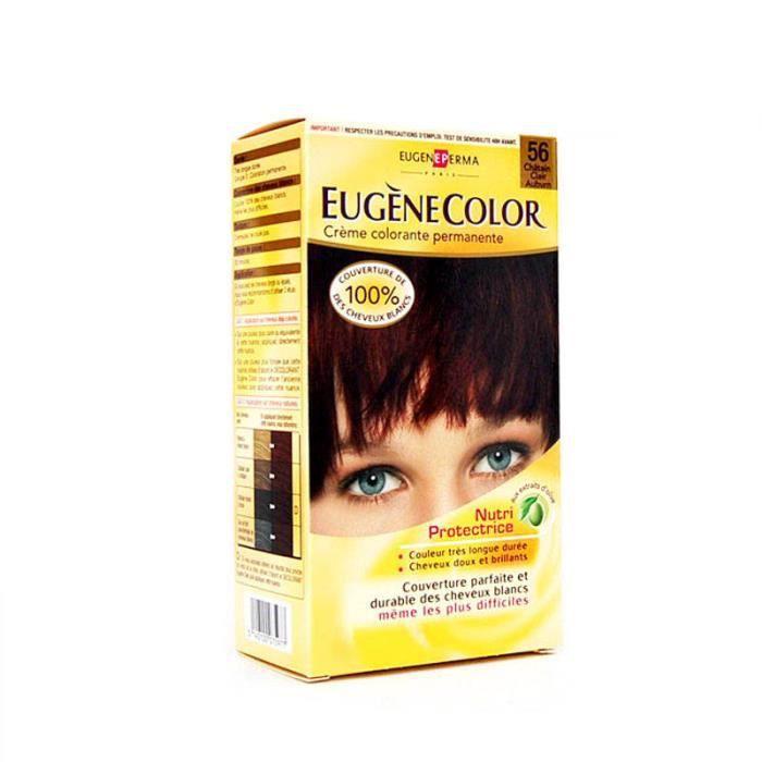 EUGENE COLOR Coloration permanente - Châtain Clair Auburn 56
