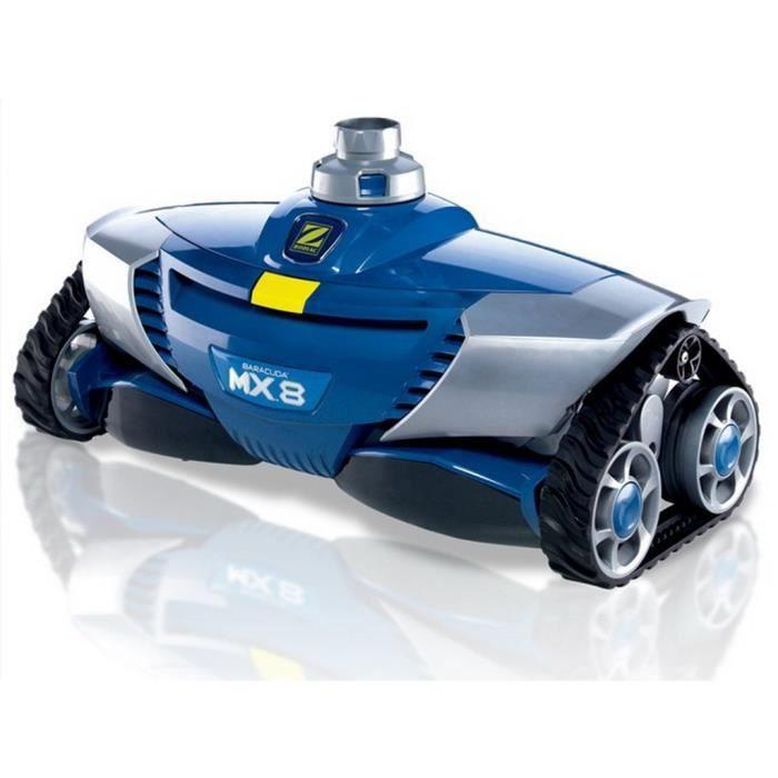 Robot piscine hydraulique Zodiac MX8 navigation X-DRIVE