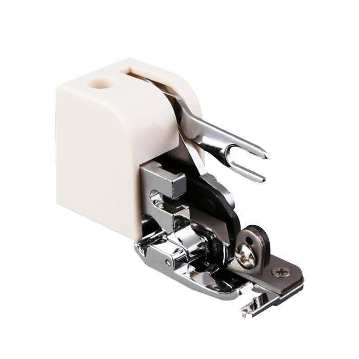 MACHINE A COUDRE,Machine à coudre pied de pressoir,Coupe latérale,Overlock pieds de pressoir pour les tiges basses - 1