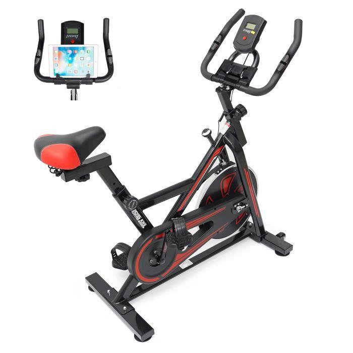 Vélo d'appartement - Vélo biking - magnetique intérieur maison bureau exercice entrainement 150kg + moniteur et support de téléphone