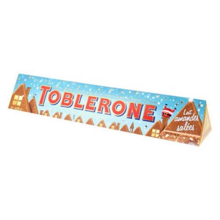 Maxi Toblerone 360g Lait Amandes Salées