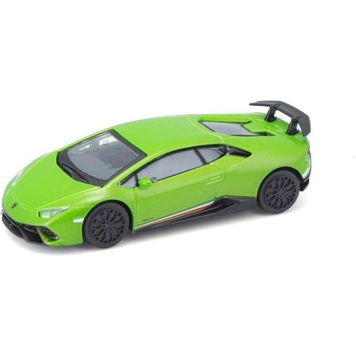 BBURAGO Voiture Lamborghini Huracan Performante Street Fire 1/43ème - Orange