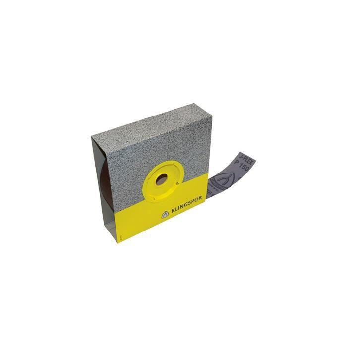 KLINGSPOR - Rouleau toile corindon KL 361 JF Ht. 30 x L. 50000 mm Gr 80 - 91286