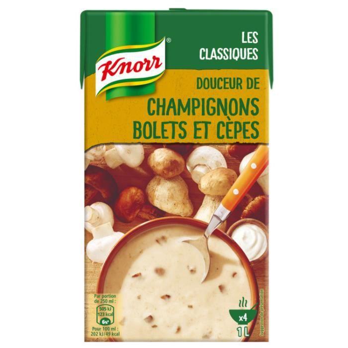 Soupe de champignons 1000 ml Knorr