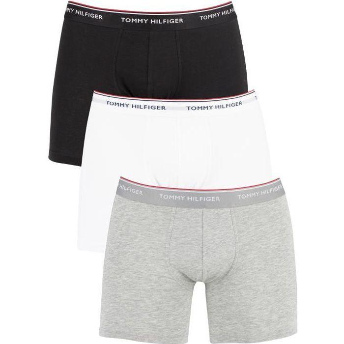 Tommy Hilfiger Homme Pack de 3 boxers Premium Essentials, Multicolore