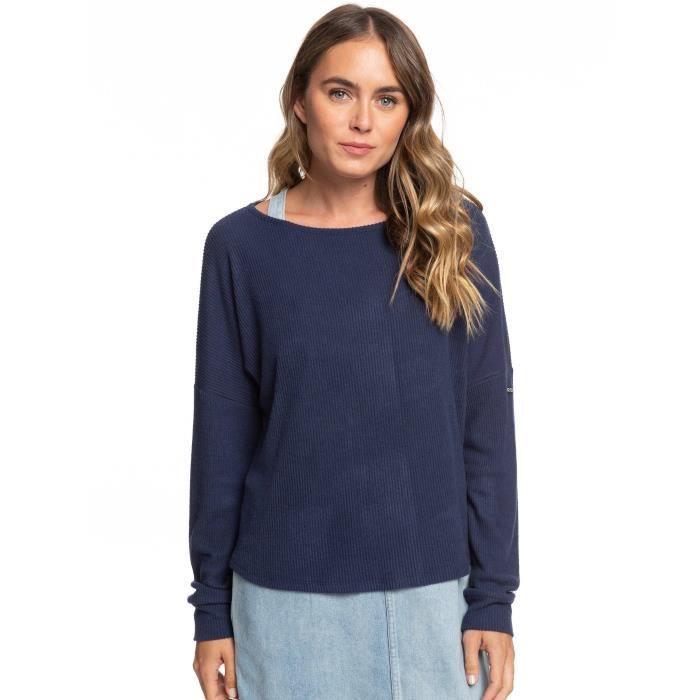 T-Shirt à manches longues Holiday Everyday de la marque Roxy Femme en Bleu [M]