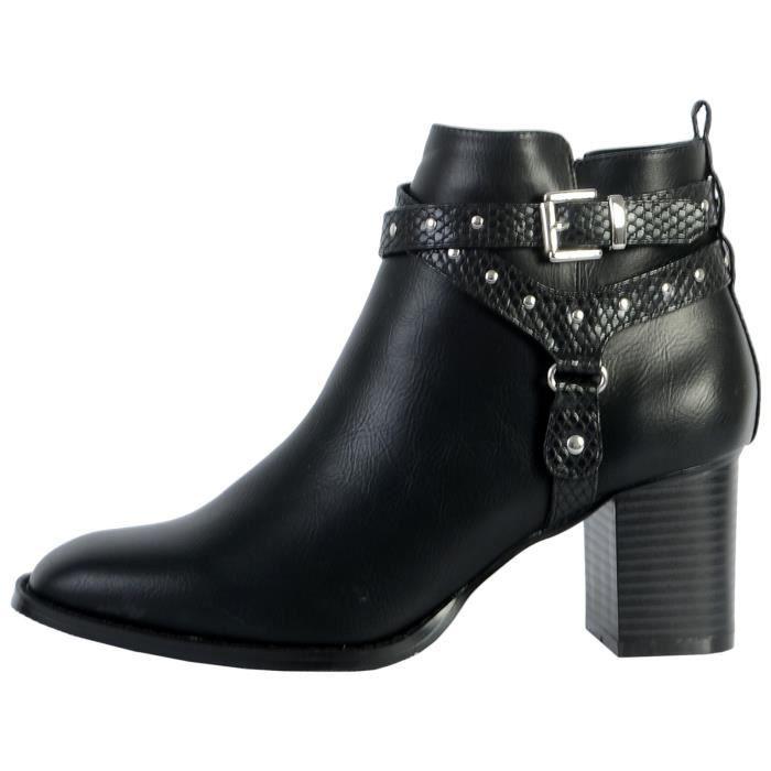 Boots The Divine Factory QL4036 Noir Femme