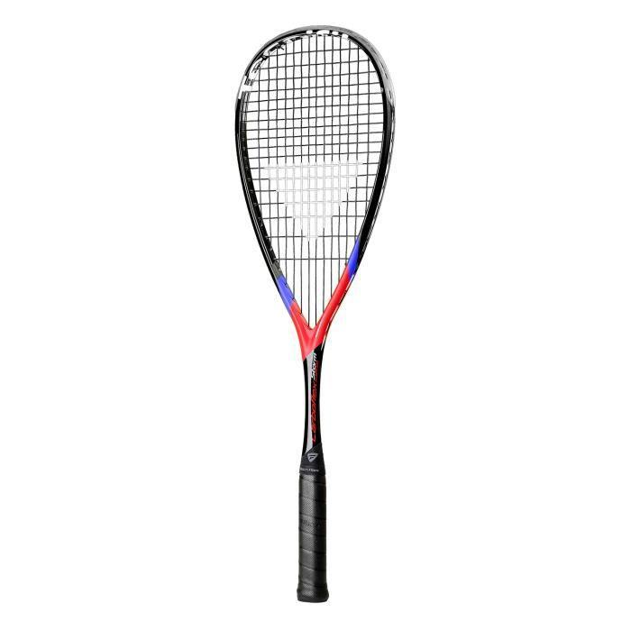 Raquette de squash Tecnifibre Carboflex Storm X-Speed coloris Black - Red - Blue