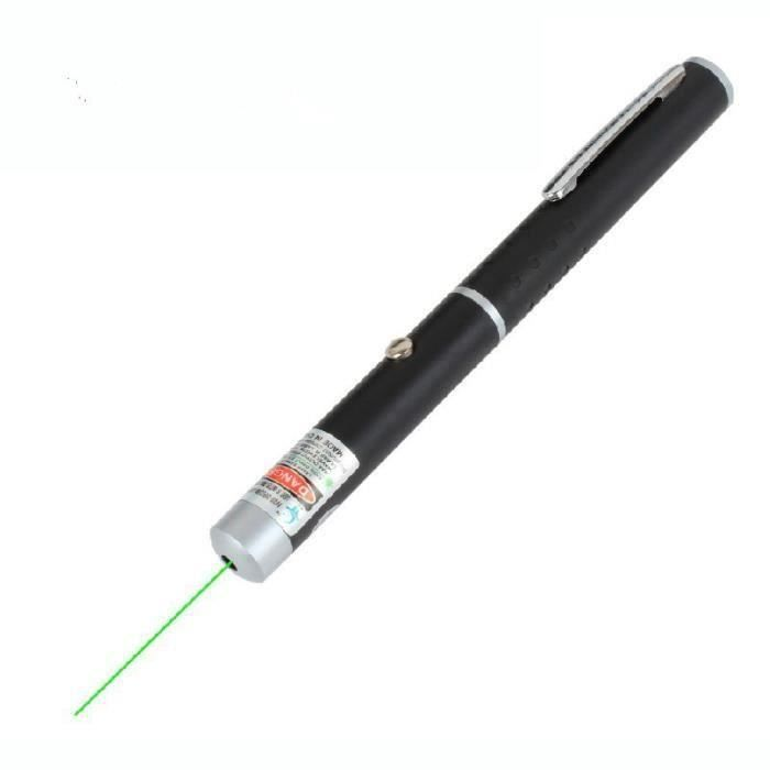 Pointeur Stylo Rouge Bleu Assassin vert Stylo lazer 532 Presque comme neuf Lumière Visible Faisceau Torche