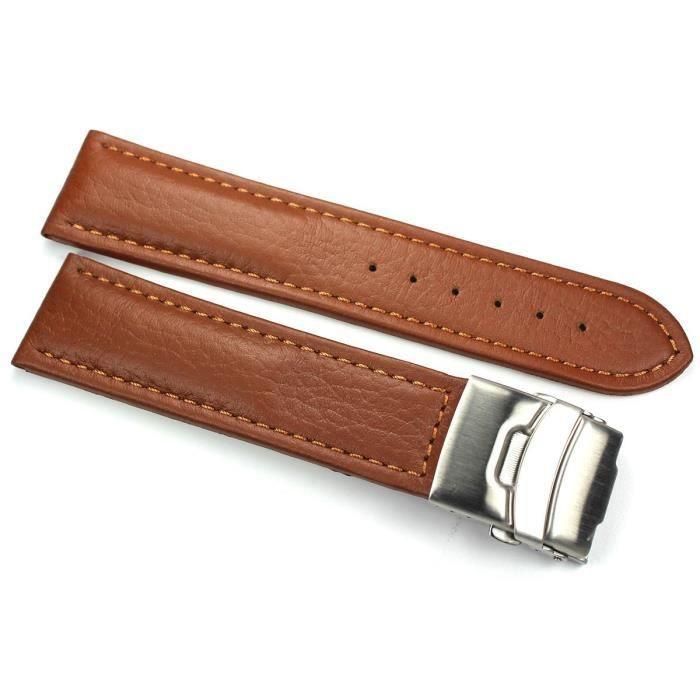 bracelet cuir avec boucle