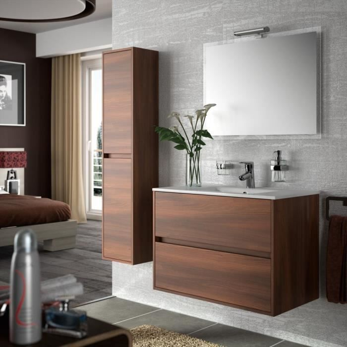 meuble de salle de bain chocolat. Black Bedroom Furniture Sets. Home Design Ideas