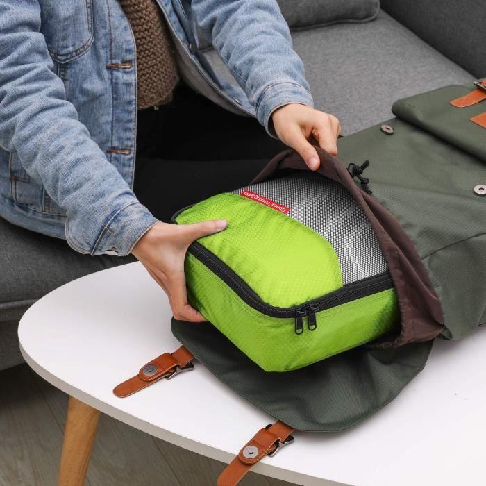 Pixnor Bijoux Roll sac voyage sac boucles d/'oreilles Collier organisateur de stockage