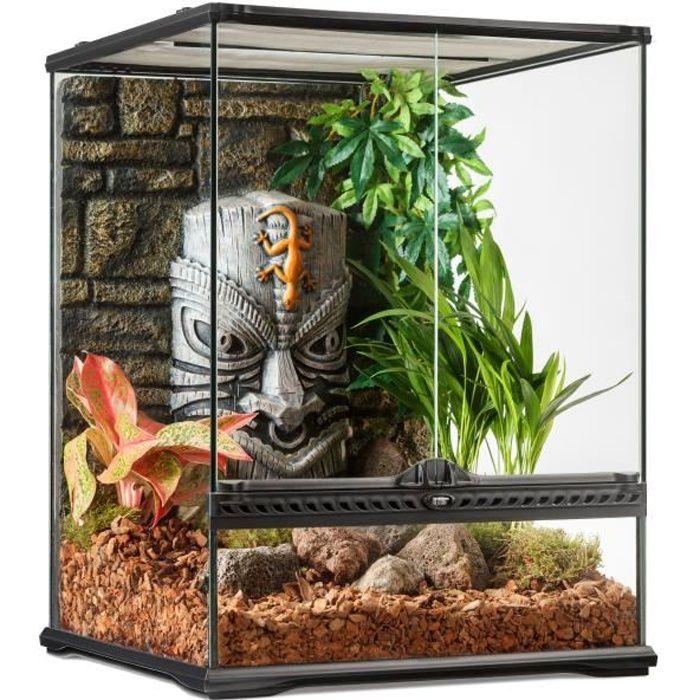 Zoo Med Terrarium Naturaliste pour Reptile//Amphibien 30 x 30 x 30 cm